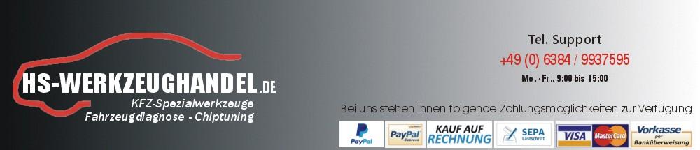 HS-Werkzeughandel - kfz-spezialwerkzeuge, vag-spezialwerkzeuge, bmw-spezialwerkzeuge, opel-spezialwerkzeuge, Online, Shop.-Logo
