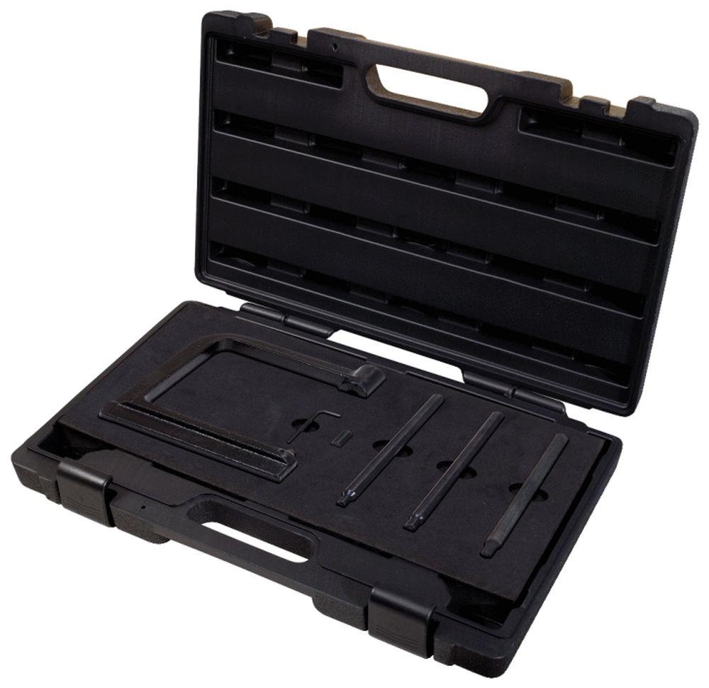 Brake Pad Riveting Tool : Ks tools brake lining rivets gun set fastener bracket
